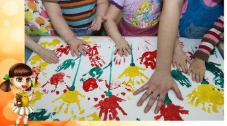 Немного о пользе рисования пальчиками